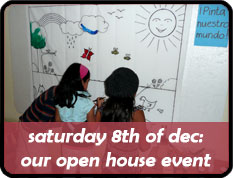 Open House day full of workshops and talks on the 8th of December